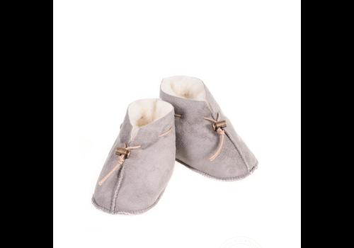 Alwero Baby slipper Velours Light grey