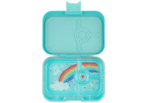 Yumbox Lunchbox PANINO 4 vakjes Misty aqua