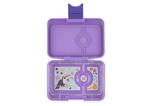 Yumbox Snackbox MINISNACK 3 vakjes Dreamy purple