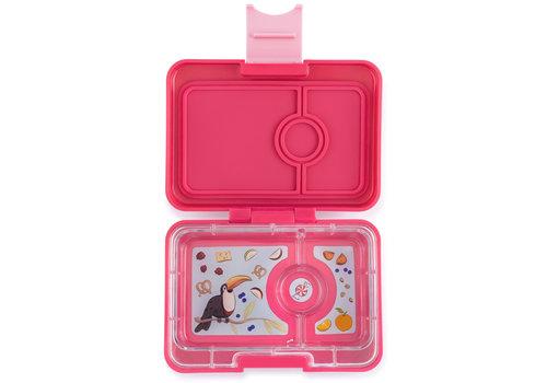 Yumbox Snackbox MINISNACK 3 vakjes Lotus pink