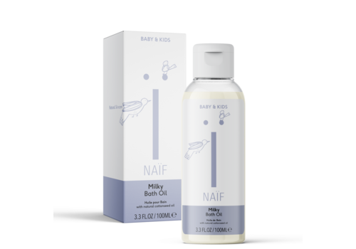 Naïf Milky Bath Oil