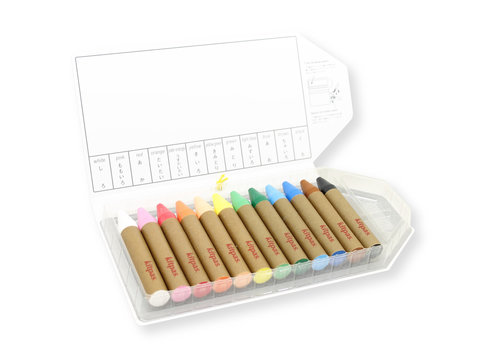 Kitpas Art crayons 12pcs large
