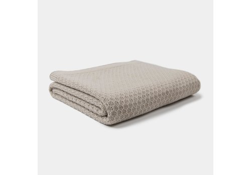 mundo melocotón Blanket knitwear Fog/Sand 75x95