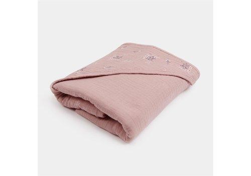 mundo melocotón Bathcape Pink heather 90x90