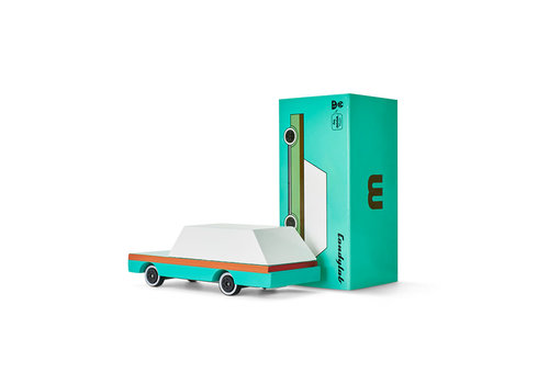 Candylab Toys Candycar - Teal Wagon