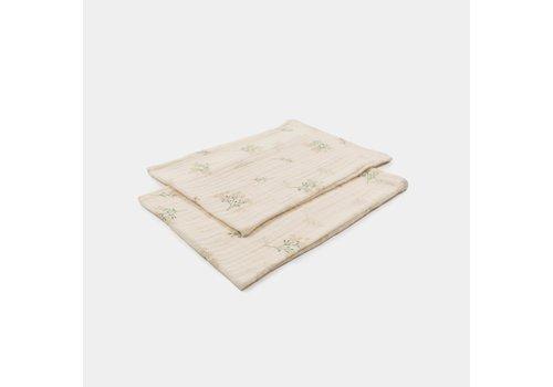 mundo melocotón Set of washcloths Dawn meadow