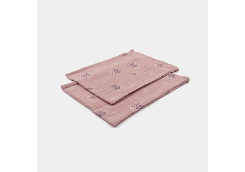 mundo melocotón Set of washcloths Pink heather
