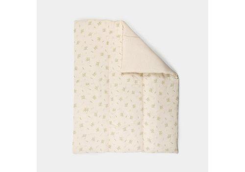 mundo melocotón Quilt/ Play pen mat Dawn meadow 75x95