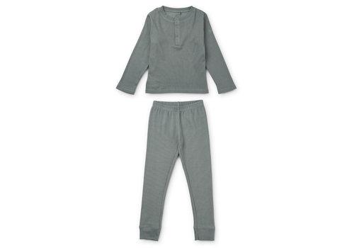 Liewood Wilhelm pyjamas set Blue fog