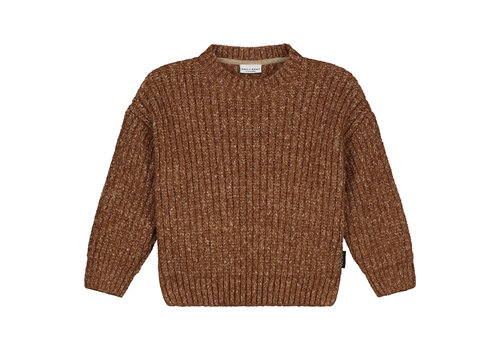 Daily Brat Nimbus knitted sweater forest brown