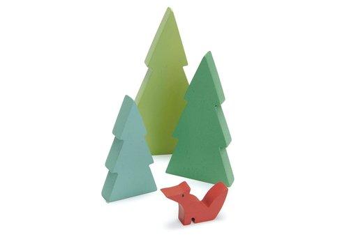 Tender Leaf Toys Dennenbomen