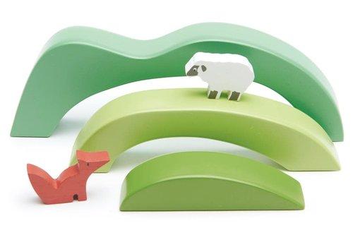 Tender Leaf Toys Display Set 'Green Hills View'