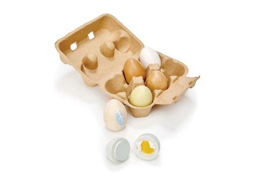 Tender Leaf Toys Eieren In Hout