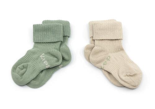 KipKep Stay-on-socks Calming green 2st