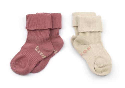 KipKep Stay-on-socks Dusty Clay 2st