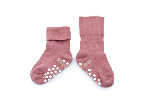 KipKep Anti-slip Stay-on-socks Dusty Clay