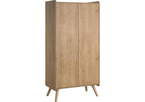 Vox VINTAGE Kleerkast 2-deurs oak