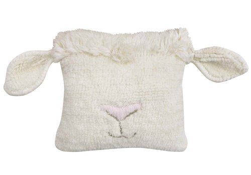 Lorena Canals Woolable cushion Pink Nose Sheep