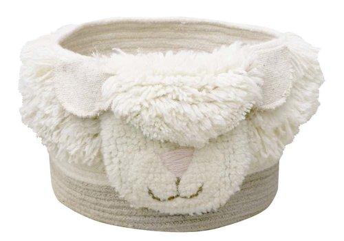Lorena Canals Woolable basket Pink Nose Sheep