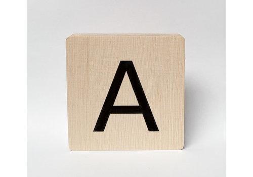 Minimou Houten letter