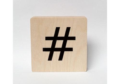 Minimou Houten symbool
