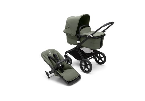 Bugaboo Bugaboo Fox 3 complete BLACK/FOREST GREEN-FOREST GREEN