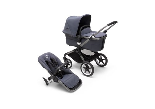 Bugaboo Bugaboo Fox 3 complete GRAPHITE/STORMY BLUE-STORMY BLUE