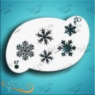 DivaStencils Diva Stencil Snowflakes 5