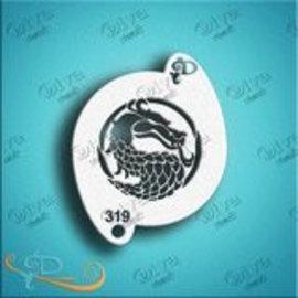 DivaStencils 319 Dragon