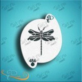 DivaStencils 484 Dragonfly