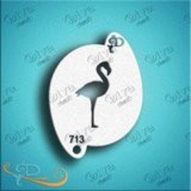 DivaStencils 713 Flamingo