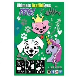 GraffitiEyes Pets stencils