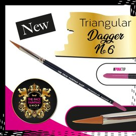 The Facepainting Shop Triangular Dagger Brush