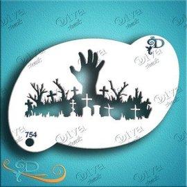DivaStencils Graveyard Hand