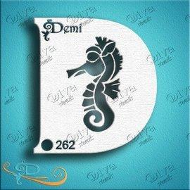 DivaStencils 262 Demi Seahorse