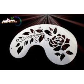 MikimFX Stencil rose