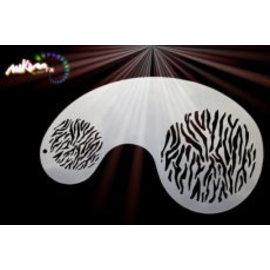 MikimFX Stencil lignes de tigres