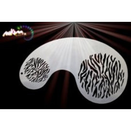 MikimFX Stencil tijgerlijnen