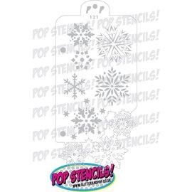 Pop Stencils 121 Snowflake Frenzy