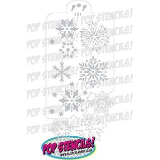 Pop Stencils 121 PopStencils Snowflake Frenzy