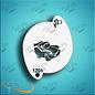 DivaStencils Diva Stencil 01201 Lightning Car