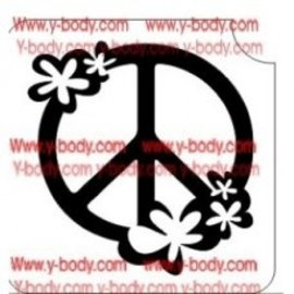 Ybody Peace with Flowers