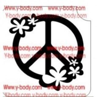 Ybody Ybody Peace with Flowers