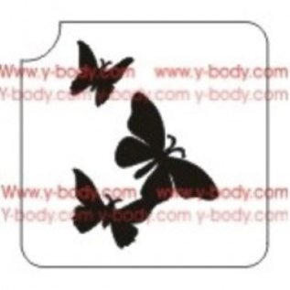 Ybody Ybody Three butterflies
