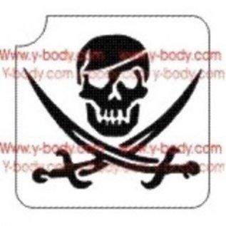 Ybody Ybody Pirate Skull
