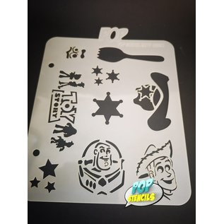 Pop Stencils PopStencils Graffiti Toy Story