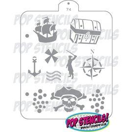 Pop Stencils Pirate