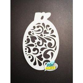 Pop Stencils Mini Swirls #96