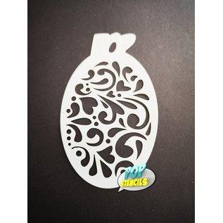 Pop Stencils PopStencils Mini Swirls #96