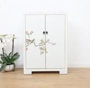 Yajutang Shoe cabinet hand-painted pattern 2 door